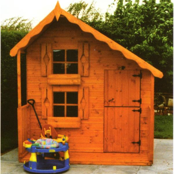 Play houses white post farm garden buildings for 10ft x 7ft garage door